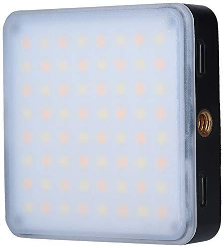 Rollei Lumen Square, handliches LED-Dauerlicht für das Smartphone mit Akku, Diffusor und APP Steuerung…