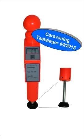 Digitale Stützlastwaage bis 150kg (orange) - Caravaning Testsieger