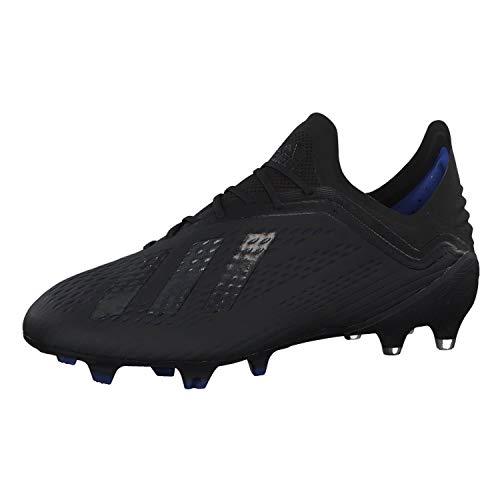 adidas Herren X 18.1 Fg Fußballschuhe, Mehrfarbig (Negbás/Negbás/Azufue 000), 42 EU