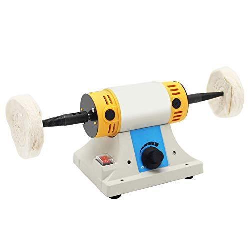 BAOSHISHAN Tisch Poliermaschine Poliermaschine Drehmaschine Schleifmaschine Stand Poliermaschine Poliermotor 10000 rpm 320W 220V