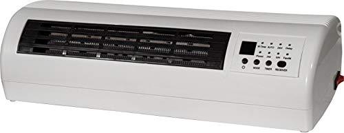 Prem-i-air - Riscaldatore/ventola da 2 kW con telecomando e timer da 24 ore e 7 giorni