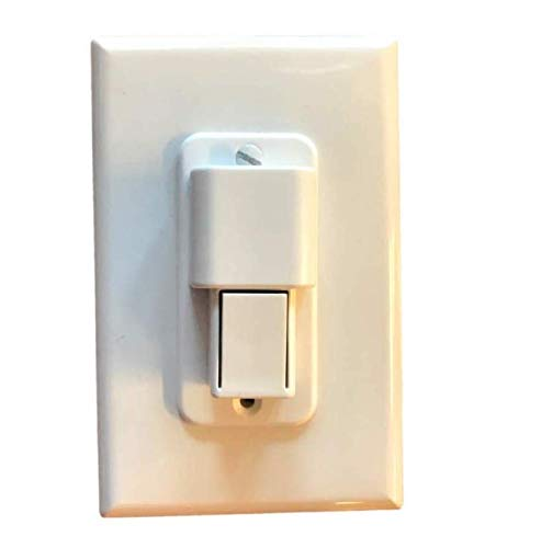 White ILIVABLE Child Proof Light Switch Guard Protects Your Lights or Circuits from being Accidentally Turned On or Off by Children and Adults Rocker Switch Plate Cover Guard