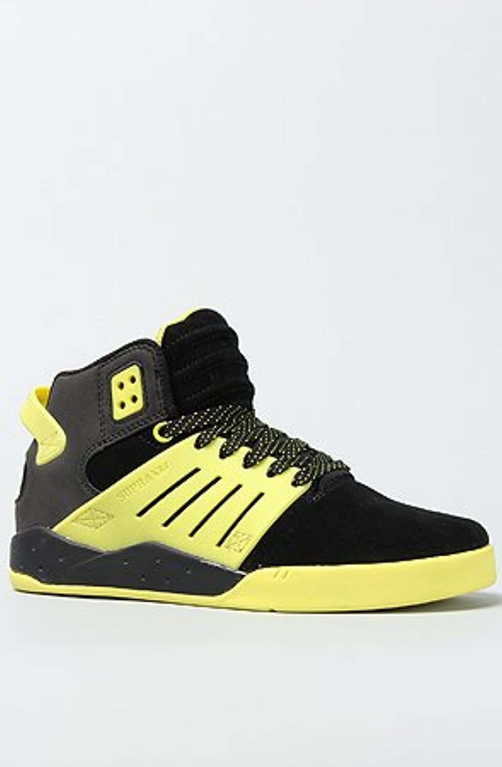 Supra - Womens Skytop Iii Mid Top shoes In Black   Yellow Black