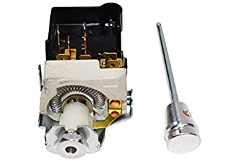 A-Team Performance Headlight Switch Dash Dimmer Billet Aluminum with Standard 8 Terminal GM Plug Compatible with 1968-1984 Chevy GM Street Rod Truck or Rat Rod Build