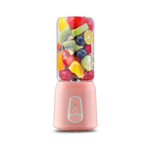 QQB Tragbare Saftpresse Cup Personal Smoothie Mixer Maker 350ml Saftpresse USB wiederaufladbare Mobile Saftpresse Obst- und Gemüsemischer Reisemixer &