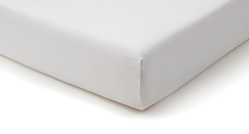Tempur-Fit Fitted Sheet (White, King Size) Material For Extra Comfort