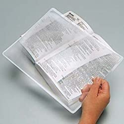 Best sheet page magnifier for mild vision loss