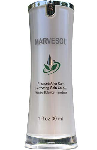 Marvesol Rosacea Cream Lotion Serum for Face Skin - Reduces Rosacea Redness Acne & Blemishes, Enhances Radiance, and Provides a Balanced State for Skin (30 ml)