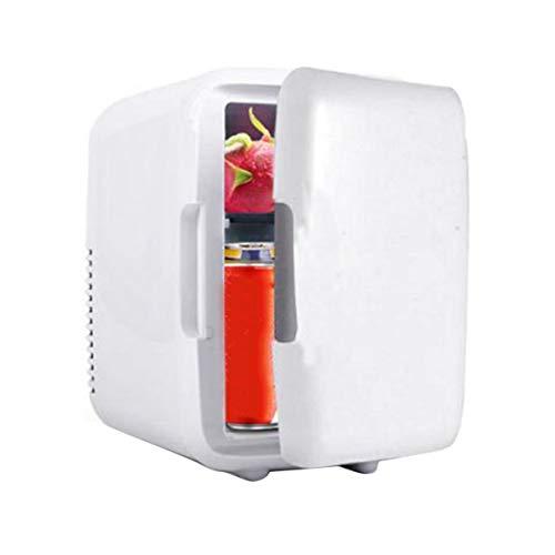 Morninganswer Congelador de Coche Portátil 4L Mini Refrigerador Coche Frigorífico 12V Enfriador Calentador Universal de Piezas de Vehículo