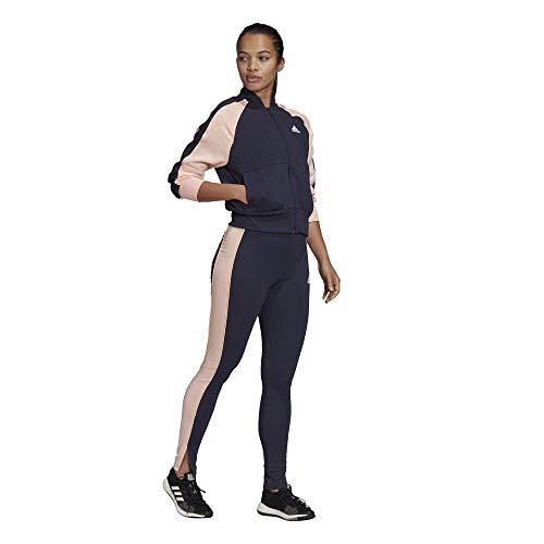 adidas Damen Ts Bomb&Tght Sportanzug, Legink/Hazcor, S