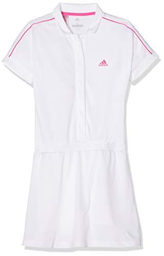 adidas Mädchen Graphic Seasonl Kleid, White, 170