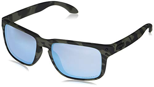 Oakley Holbrook - Gafas de sol para hombre, color oliva mate, polarizadas, 55 mm