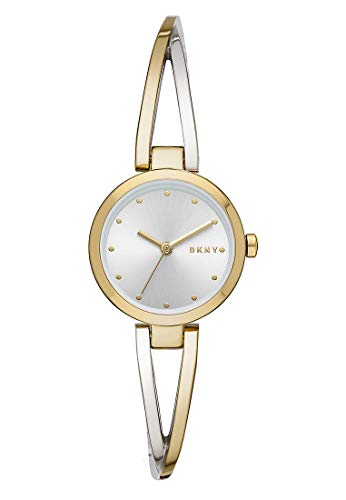 DKNY Damen-Uhren Analog Quarz One Size Bicolor Edelstahl 32002251