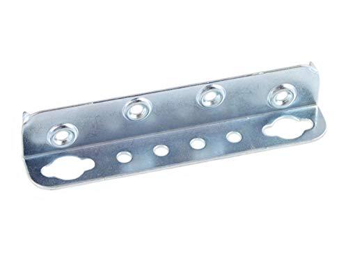 4 X Mprofi MT® Bedbeslag Bedverbinders Bedhoek Hoekverbinder in Hoogte Verstelbaar Inhaakbeslag en Lattenbodem Hoogte Stabiele Uitvoering 130 mm