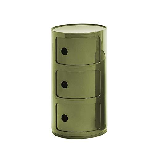 Componibili 4967 3-er Element Kartell-grün