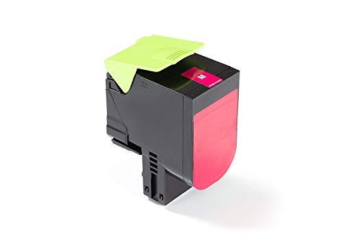 Green2Print Tóner Magenta 2300 páginas sustituye a Lexmark 71B0030, 71B20M0 Tóner Apto para la Lexmark CX317DN, CX417DE,...