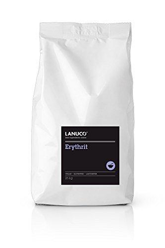 Erythrit - 25kg fein Erythritol, Low Carb Zuckeralternative, kalorienfreier Zuckerersatz, Süßungsmittel, Zuckeraustausch, vegan, zuckerfrei