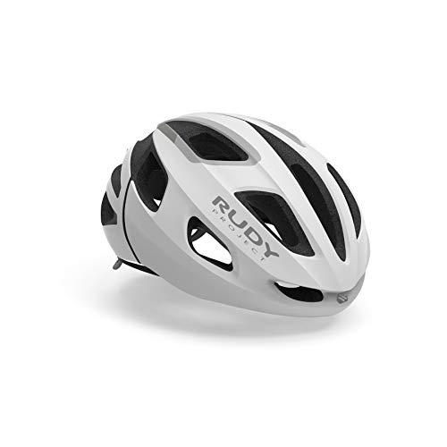 RUDY PROJECT Strym Helmet, White Stealth, Small/Medium