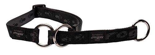 Rogz HBC27-A Alpinist Stopp- Halsband/Everest, XL, schwarz