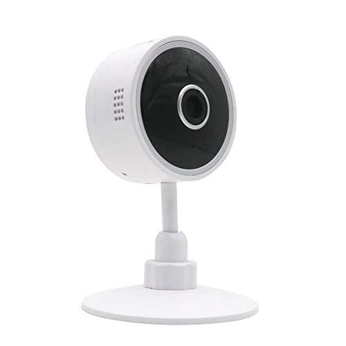 Cámara de vigilancia Interior QNECT - 720P, inalámbrica, con visión Nocturna y Sensor de Movimiento, Compatible con Alexa y Google Home