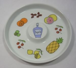 Porcelain Margarita Salt Dish by Ursula Dodge for Signature Housewares Incorporated
