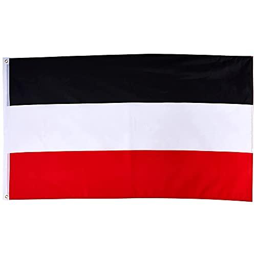 Deutsches Reich Flagge 90 * 150cm Schwarz Weiß Rot Deutsche Nationalflagge Für Meet Parade Party Hängende Dekoration