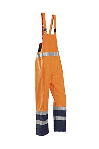 SIOEN 6133A2EF5279S Brisbane Latzhose, antistatisch, Größe S, Orange/Marineblau