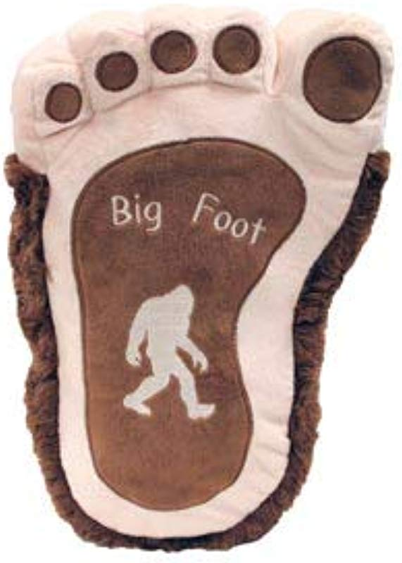 Rustic Axentz Big Foot Paw Print Throw Pillow Plush Collectible Stuffed Toy 17 Inch