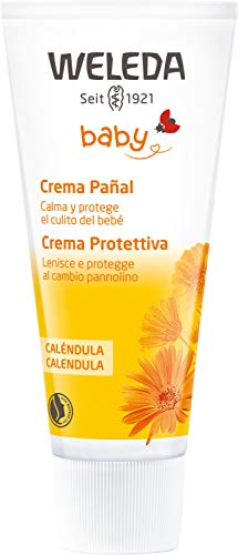 Weleda, crème de changement de couche au calendula - 75ml