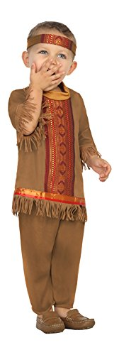 Atosa-27694 Disfraz Indio, Color marrón, 12 a 24 Meses (27694)