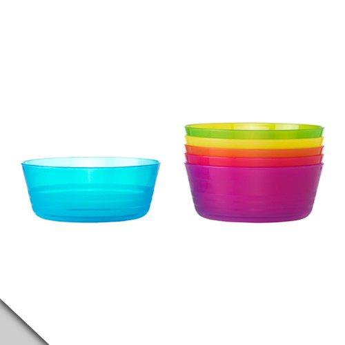 IKEA - KALAS Bowl, Assorted Colors ( 2 sets of 6)