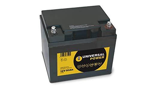 Universal Power 12-50 12V 50Ah (C20) AGM Batterie Bleiakku wartungsfrei zyklisch
