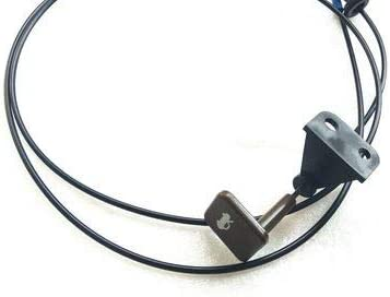 FEILIDAPARTS Hood Release National uniform free shipping Cable Black Challenge the lowest price of Japan To 20 compatible 2002 with