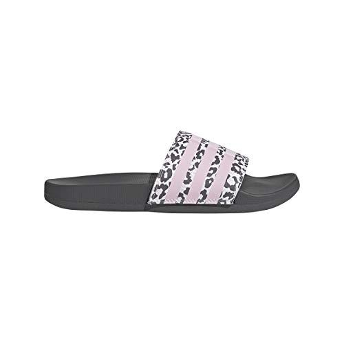 adidas Damen Adilette Comfort Flipflop, Mehrfarbig (Gricin Roscla Ftwbla), 38 EU