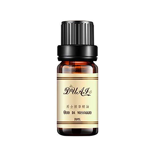 Dauerhafte ätherische Öle für Männer Libido Massageöl, männliche Penis Pflege Massageöl Brown erweitert ätherisches Öl - männliche Verzögerung liefert