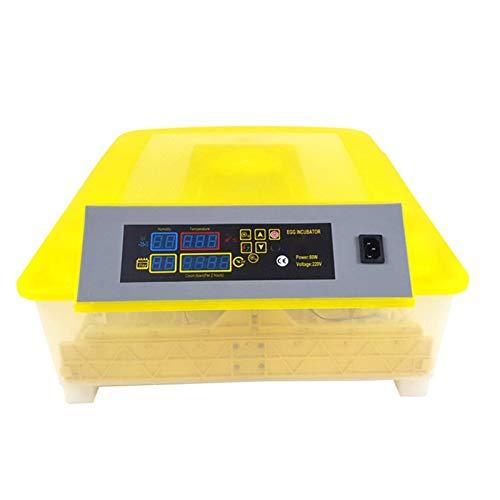 Incubadora de Huevos Capacidad de 48 Huevos Volteo automático de Huevos y Control de Temperatura Ventilación para escotilla Pollo Pato Ganso Codorniz Huevos de Aves