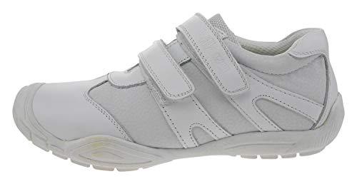 Billowy 3900c02 Leder Sneaker Weiss, Groesse:33.0
