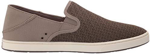 OLUKAI Men's Kahu Aho Shoes, Clay/Off White, 9 M US