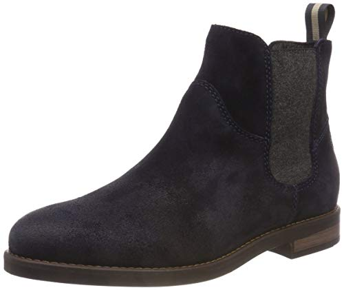 Marc O'Polo Damen Chelsea Boots, Blau (Navy 890), 38 EU