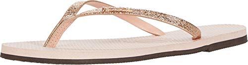 Havaianas You Shine Sandal Ballet Rose 37/38 Brazil (US Men's 5/6, Women's 7/8) M