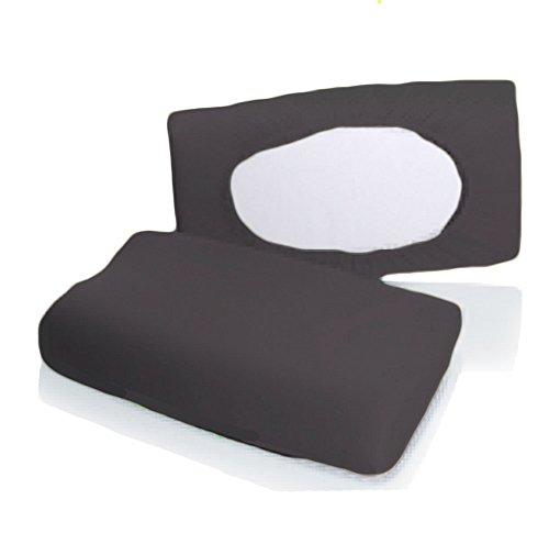 Bellana Gesundheitskissen Bezug Mako Jersey 30-50 x 40-80 cm und 8-15 cm Höhe cm Farbe: anthrazit