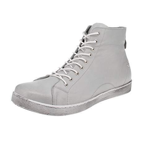 Andrea Conti 0341500004 - Zapatos de mujer para el tiempo libre, color Gris, talla 38 EU