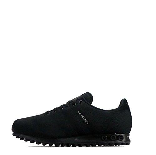 Adidas Originals LA Trainer Weave Triple Black Scarpe da uomo