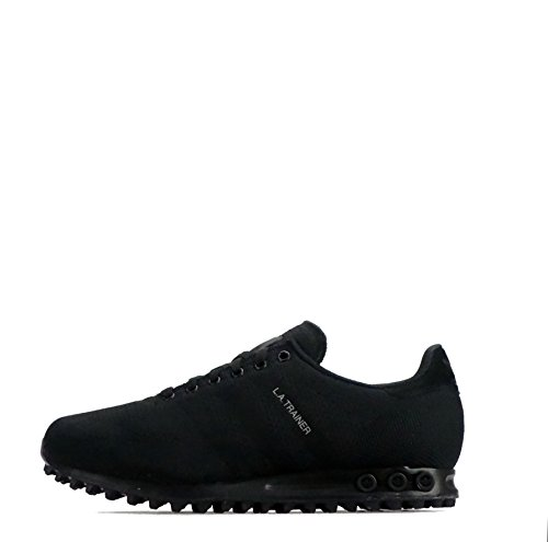 Adidas Originals LA Trainer Weave Triple Black Scarpe da uomo