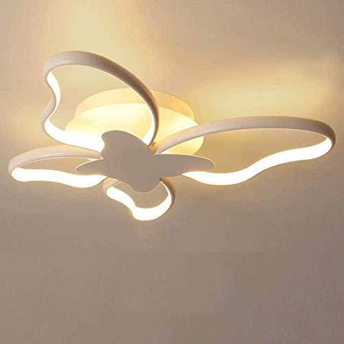 LED Kinderzimmer Deckenleuchte Kinderlampe Kinderzimmerlampe Deckenlampe Dimmbare Schmetterling Mädchen Junge...