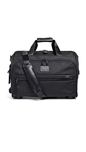 TUMI - Alpha 3 Framed Soft Duffel Bag - Travel Laptop Satchel for Men and Women - Black