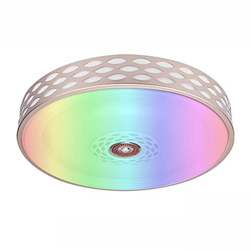 Luz De Techo LED Inteligente Alexa De 60W, Control WIFI/APP Lámpara De Techo Compatible Con Alexa Google Home, Cambio De Color RGB, Lámpara De Baño Impermeable IP44 Para Dormitorios Cocina