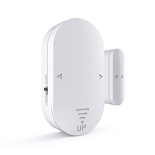 BJH Sensor de Puerta de Ventana Inteligente Paquete de 4 Puertas y Ventanas de Alarma Abierta para Seguridad Personal Automatización del hogar Timbre de Puerta Sistema de Alarma de Seguridad Ant