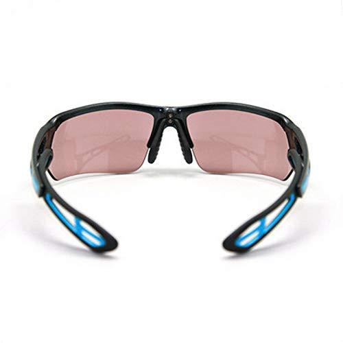 N/W Gafas de Sol de Ciclismo Gafas de Exterior para Adultos Que cambian de Color de Bicicleta Adecuado para Amantes del Ciclismo al Aire Libre