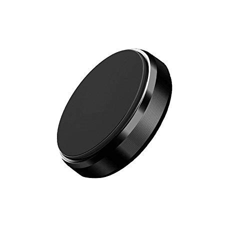 BKN® Aluminium Alloy Metal Body Mini Magnetic Car Phone Holder (Set of 1, Random Colors)